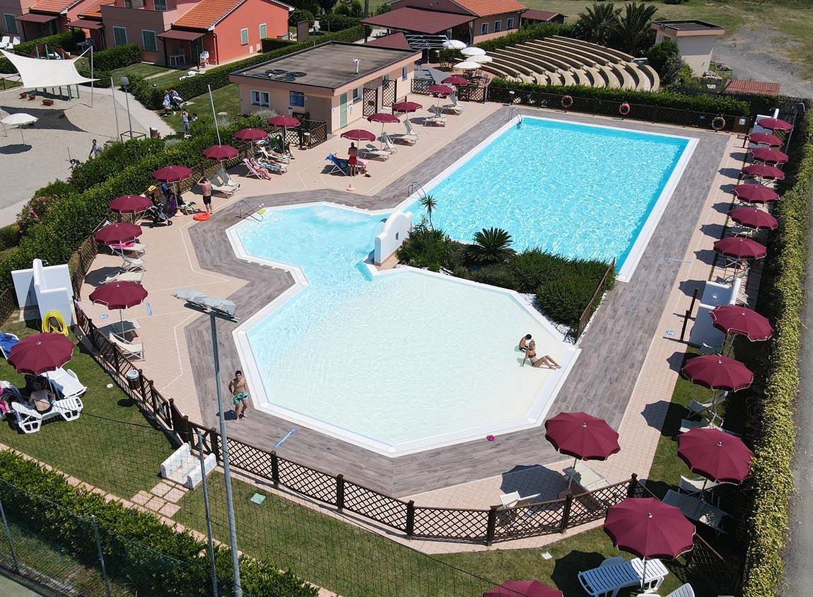 Villaggio in Toscana con animazione